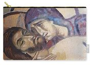 Pieta-mural Detail Carry-all Pouch