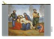 Pieta Raffaello Sanzio Da Urbino Raphael Raffaello Santi Carry-all Pouch