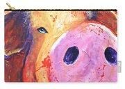 Pig On Purple I Carry-all Pouch