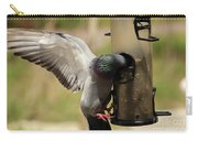 Pigeon And Feeder Wings Spread Carry-all Pouch