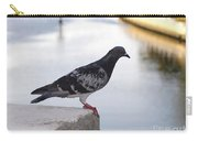Pigeon By The River Carry-all Pouch