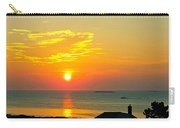 Pigeon Cove Summer Sunrise Carry-all Pouch