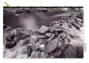 Pigeon Forge River Great Smoky Mountains Bw Carry-all Pouch