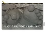 Piggy Toes Quote Carry-all Pouch