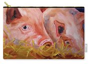 Piglet Pair Carry-all Pouch