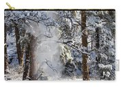 Pike National Forest Snowstorm Carry-all Pouch