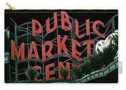 Pike Place Market Entrance 5 Carry-all Pouch