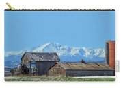 Pikes Peak And Old Barn Spring Snow Carry-all Pouch