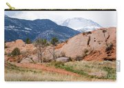 Pikes Peak From Red Rock Canyon Carry-all Pouch