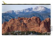 Pikes Peak Over The Garden Carry-all Pouch