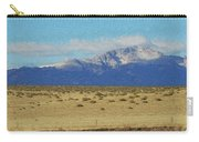 Pikes Peak Painterly Carry-all Pouch