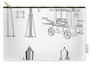 Pile Driver, Fire Engine, Steam Engine Carry-all Pouch