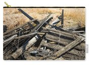 Pile Of Old Wood Carry-all Pouch