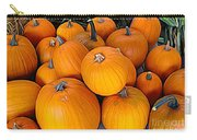 Pile Of Pumpkins For Sale Expressionist Effect Carry-all Pouch