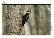 Pileated About To Take Flight Carry-all Pouch