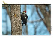 Pileated Billed Woodpecker Pecking 3 Carry-all Pouch