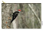 Pileated Woodpecker Looking For A Perspective Mate Carry-all Pouch