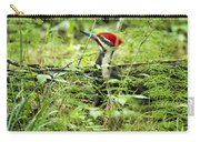 Pileated Woodpecker On The Ground No. 1 Carry-all Pouch