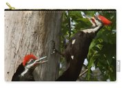Pileated Woodpecker Ready To Fledge Carry-all Pouch
