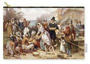 Pilgrims: Thanksgiving, 1621 Carry-all Pouch