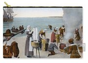 Pilgrims Washing Day, 1620 Carry-all Pouch