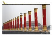 Pillars At Tiananmen Square Carry-all Pouch