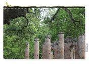 Pillars Of Sheldon Church Ruins Carry-all Pouch