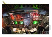 Pilots At The Controls Of A B-52 Carry-all Pouch by Stocktrek Images