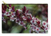Pin Cherry Blossoms Carry-all Pouch