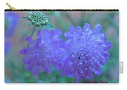 Pin Cushion Flower Carry-all Pouch