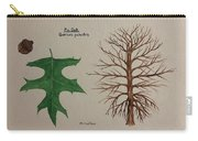 Pin Oak Tree Id Carry-all Pouch