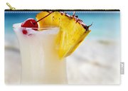 Pina Colada Cocktail On The Beach Carry-all Pouch