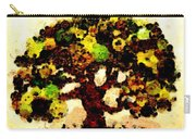 Pinatamiche Tree Painting In Crackle Paint Carry-all Pouch