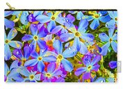 Pincushion Flower Carry-all Pouch
