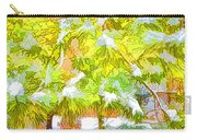 Pine Branch Under Snow Carry-all Pouch