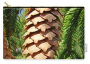 Pine Cone Art Prints Pine Tree Artwork Baslee Troutman Carry-all Pouch