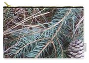 Pine Cone Brush Carry-all Pouch