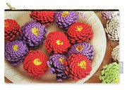 Pine Cone Flower Project Carry-all Pouch
