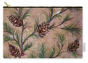 Pine Cones And Spruce Branches Carry-all Pouch