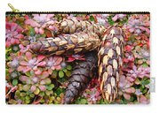 Pine Cones Art Print Botanical Garden Baslee Troutman Carry-all Pouch