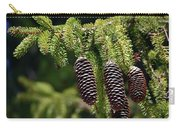 Pine Cones On The Bough Carry-all Pouch