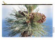 Pine Cones Over Lake Tahoe Carry-all Pouch