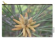 Pine Flower In Summer  Close Up Carry-all Pouch