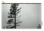 Pine In Snow Carry-all Pouch