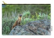 Pine Marten With Attitude Carry-all Pouch