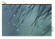 Pine Needle Raindrops Carry-all Pouch