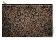 Pine Needles On Forest Floor Carry-all Pouch