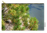 Pine Needles Over Water Carry-all Pouch