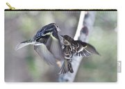 Pine Siskins Fighting 6829 Carry-all Pouch