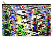 Pine Tree Abstract ,3448wt Carry-all Pouch